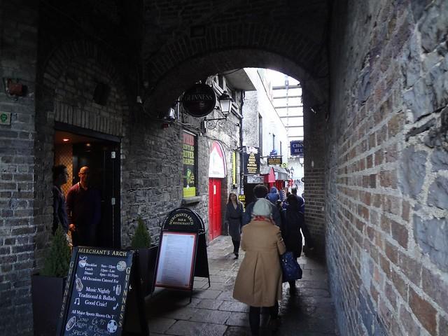 Bairro Temple Bar em Dublin, Irlanda