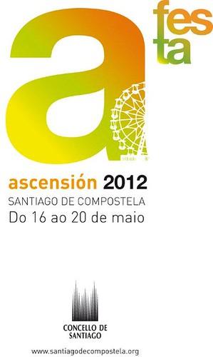 Santiago de Compostela 2012 - Ascensión - cartel