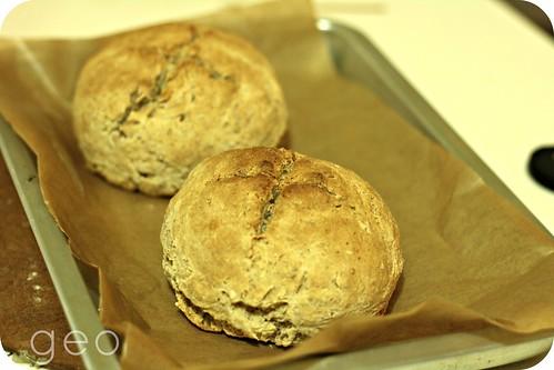 homebaked wholemeal bread