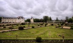 Schloss Chenonceaux - Garten der Diana von Poitiers