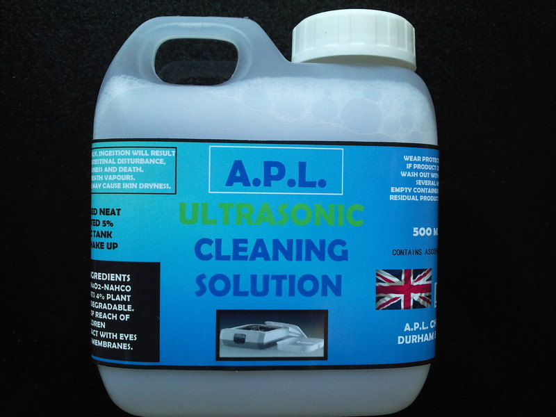 Ultrasonic watch cleaning fluid - Captive 2014 trailer