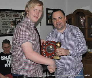 Cliffe FC - Presentation Evening 2011/2012 - 19May12