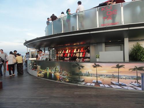 Ku De Ta restaurant ~ skyPark @Marina Bay Sands