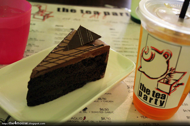 Tea Party Cafe - Hazelnut Cake