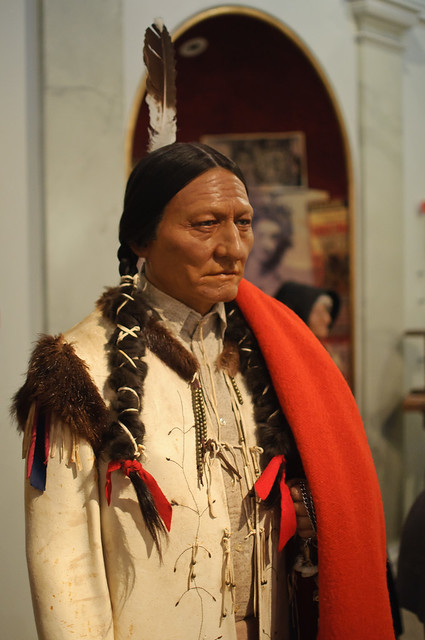 New York Prime >> Sitting Bull at Madame Tussaud's New York | Flickr - Photo Sharing!
