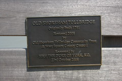 Photo of Andrew bronze plaque