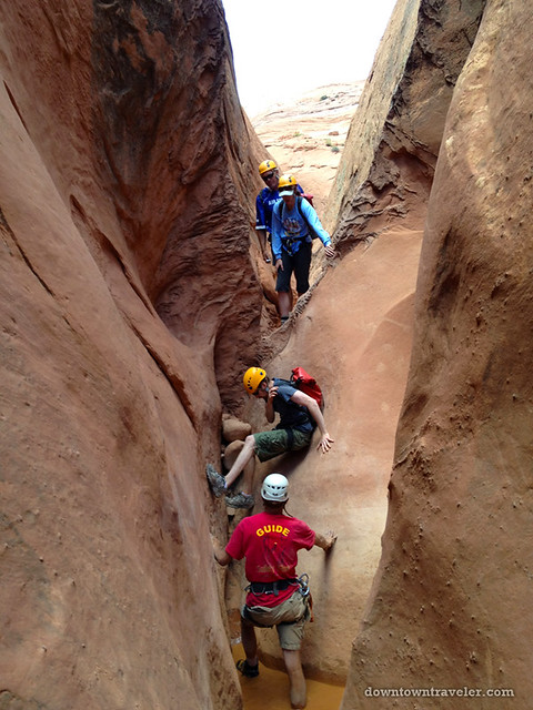 Canyonnering at Escalante National Monument 01