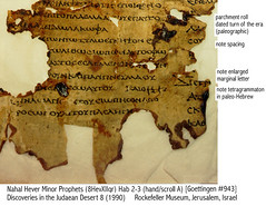 Qumran Septuagint YAHUWAH fragment 2