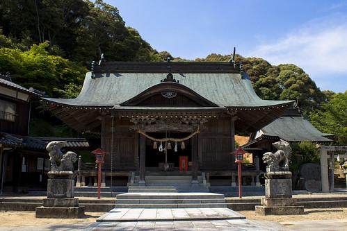 Kibehachiman-gu Shrine
