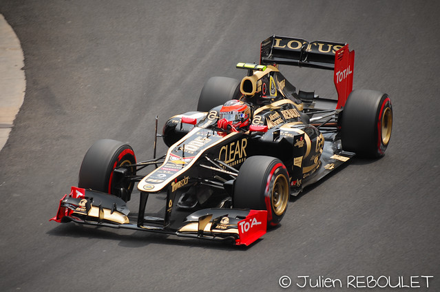Romain Grosjean (FRA) Lotus E20  Formula One Monaco GP Rd6 2012 www.julien-reboulet.fr