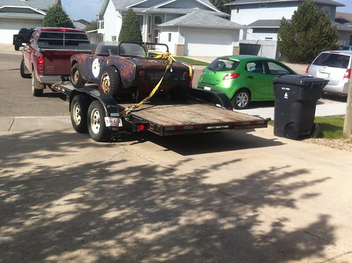 1965 Honda S600 being delivered