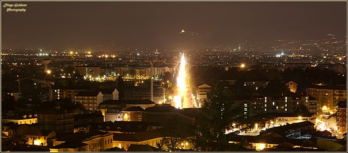 Burning Road   (Corso Francia Torino)