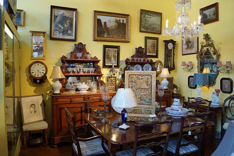Flanagan & Lane Antiques 165 South Jackson St. Seattle, WA
