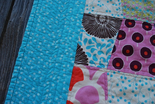 Detail - Sugar Pop Baby Quilt