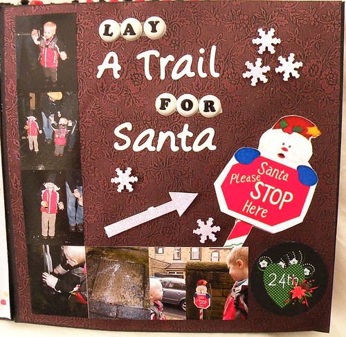 24th Lay a trail for Santa