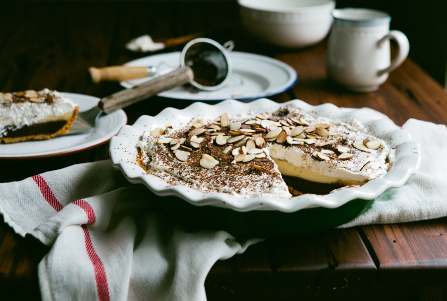 Black Bottom Pie: пирог с шоколадным и ...