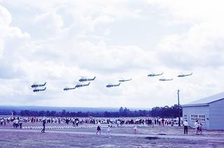 Fleet Air Arm 21st Anniversary of HMAS Albatross at Nowra October 1969