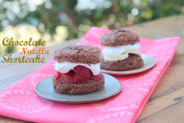 ChocolateNutellaShortcake