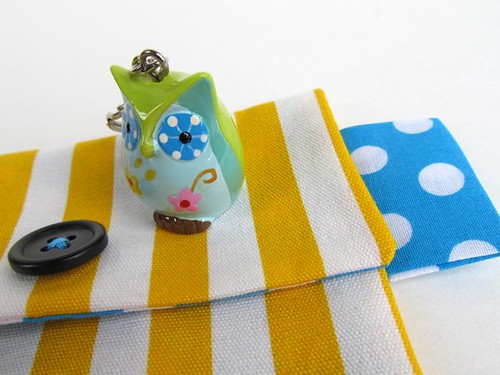 Owl and purse from Crafted by Carly