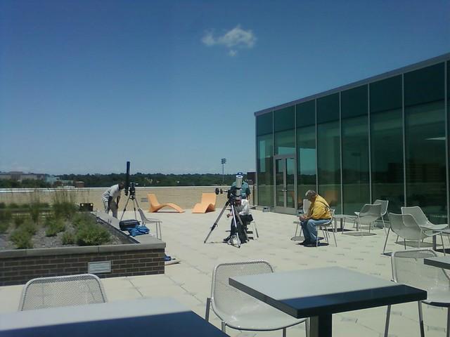 More solar observing