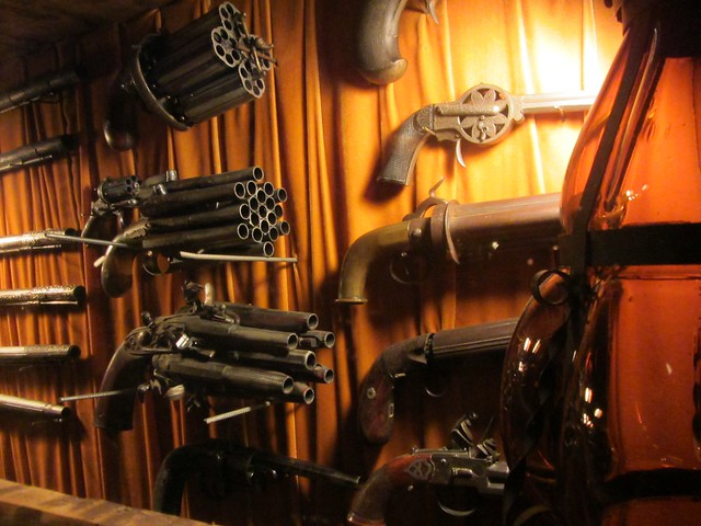 Multibarrelled Guns at the House on the Rock