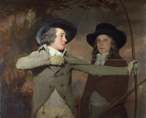 Sir Henry Raeburn - The Archers [c.1789-90] by Gandalf's Gallery