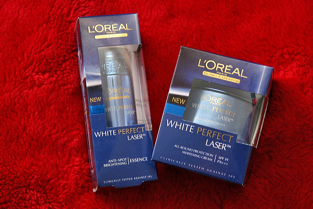L'Oreal White Perfect Laser Products
