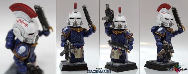 Lieutenant Kallistus of the Ultramarines