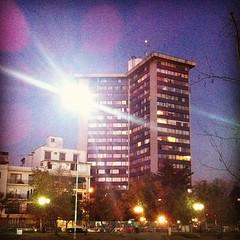 Anochece en Santiago