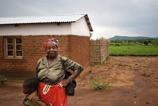 """I'm a happy woman"" thanks to conservation agriculture in Malawi"