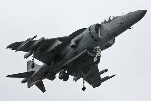 [フリー画像素材] 戦争, 軍用機, 攻撃機, AV-8B ハリアー II ID:201206090000