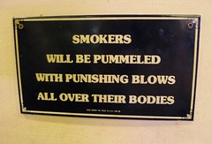 smokers will be pummeled