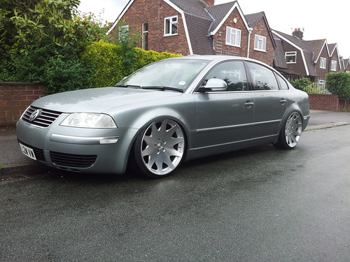VW Passat B5.5 Saloon on air