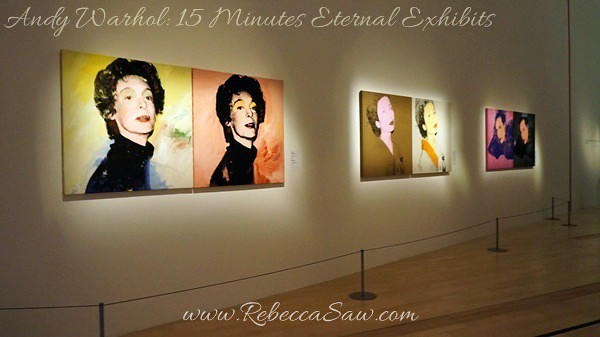 Andy Warhol 15 Minutes Eternal Exhibits - ArtScience Museum, Singapore (20)