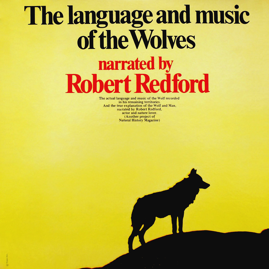 Robert Redford - The Language and Music of the Wolves