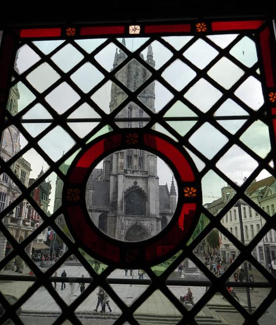 Ghent thru the window
