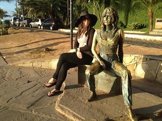Sarah and Brigitte