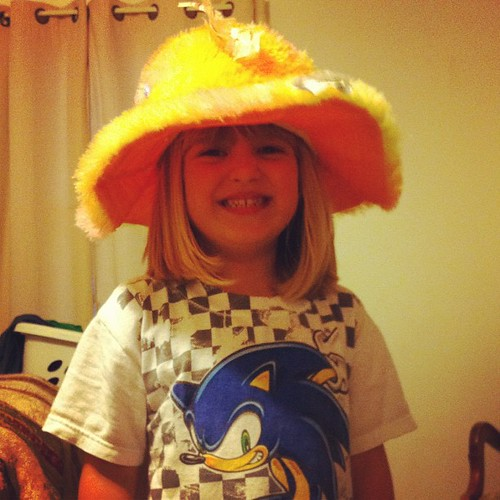 Day 6: hat, big pimpin' style. #photoadayjune