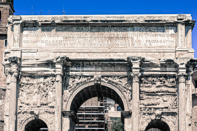 The Arch of Septimius Severus | Flickr - Photo Sharing!