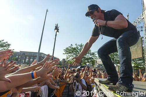 Jerrod Niemann - 06-10-12 - WYCD Downtown Hoedown 2012, Comerica Park, Detroit, MI
