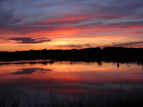 無料写真素材, 自然風景, 朝焼け・夕焼け, 河川・湖, 風景  アメリカ合衆国