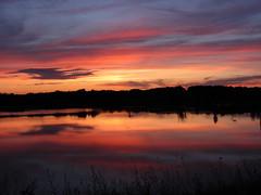 [フリー画像素材] 自然風景, 朝焼け・夕焼け, 河川・湖, 風景 - アメリカ合衆国 ID:201206202000