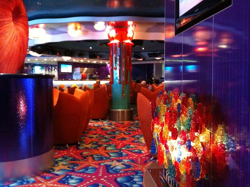 Medusa Lounge on Norwegian Jade