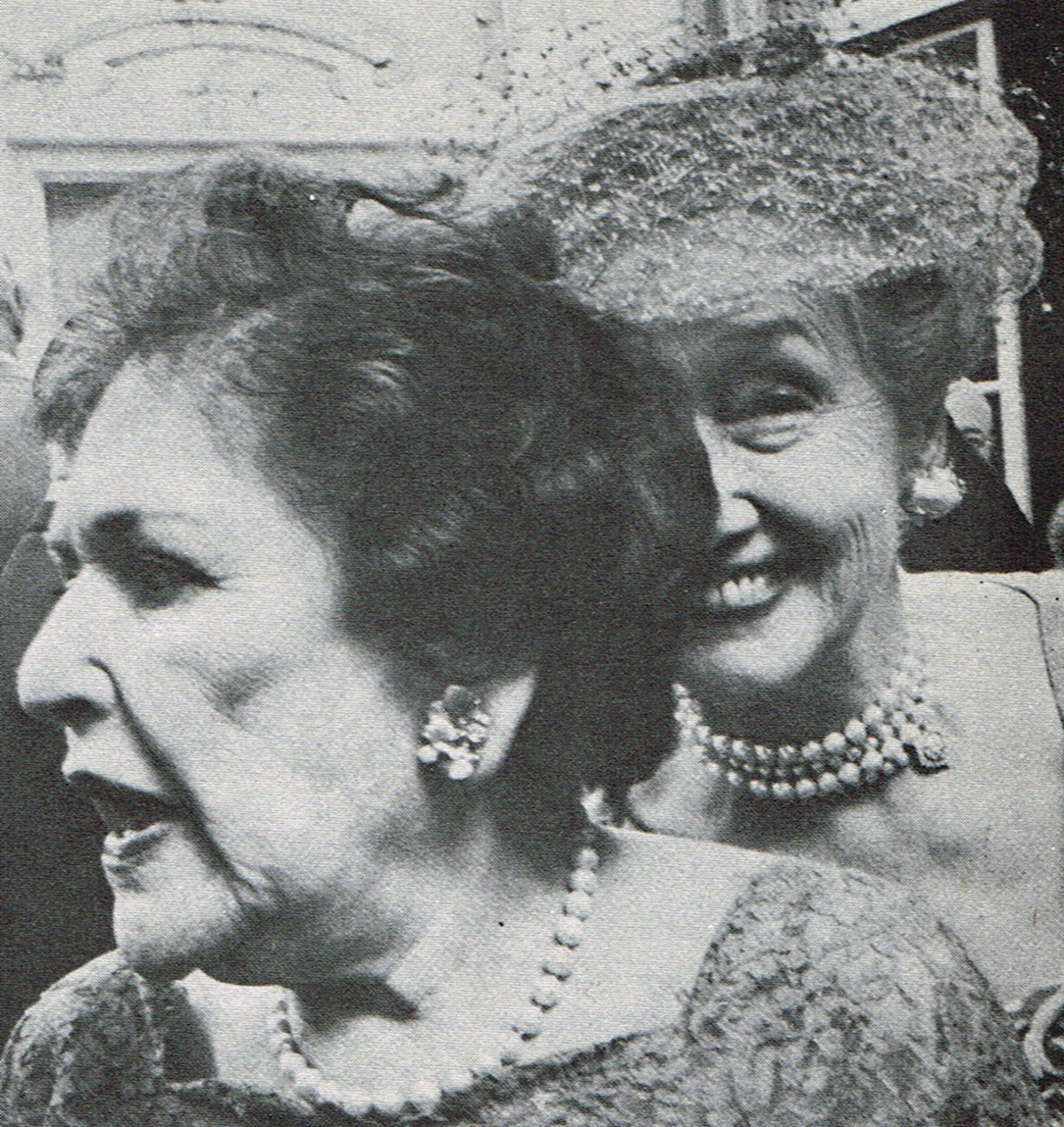 Louella Parsons and Hedda Hopper