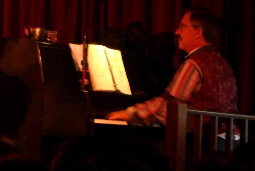 Palace Theater Revue - piano player/narrator