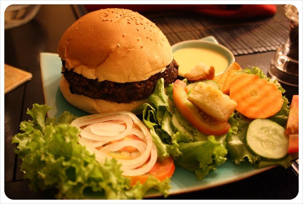 battambang veggie burger