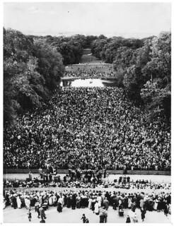 Alsangsstævne i Frederiksberg Have d. 1. september 1940