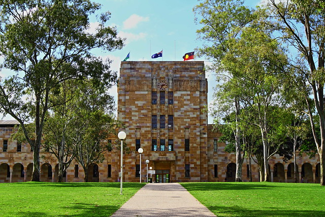 Forgan Smith Building At Uq St Lucia Campus Flickr