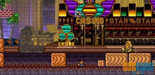 Mushroom Kingdom Fusion, Mario en el mundo de Metal Slug