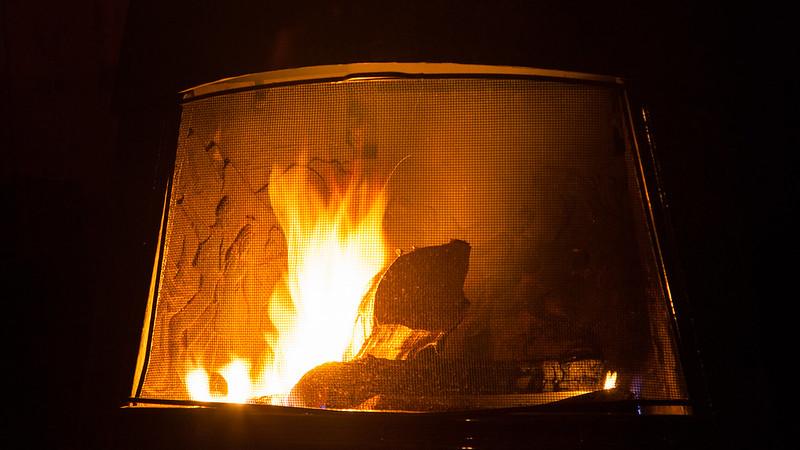 Kuschliges Feuer